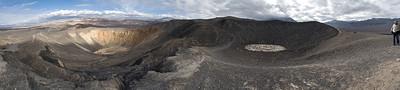 Ubehebe Crater Panorama